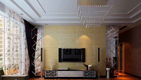 空间层次多线条 客厅欧式德赢vwinac米兰官方区域合作伙伴设计